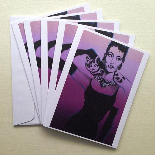 Audrey Notecards
