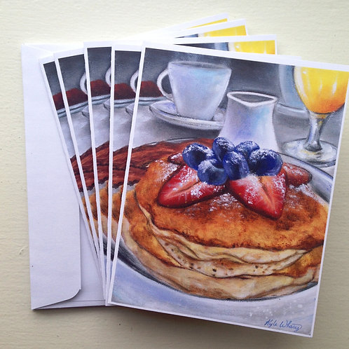 Breakfast in Cape May Notecards