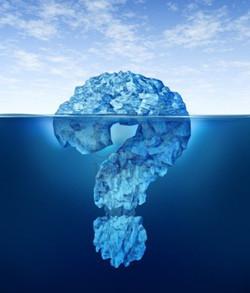 Nuestra mente es como un iceberg