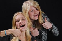 Lindsey en Shannon