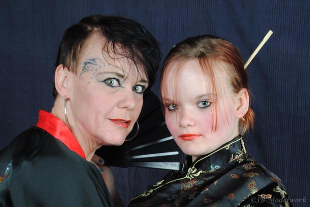 Kishja en Gwen