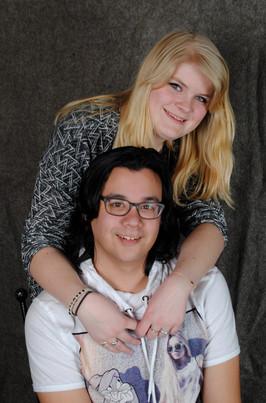 Shannon en Jordy