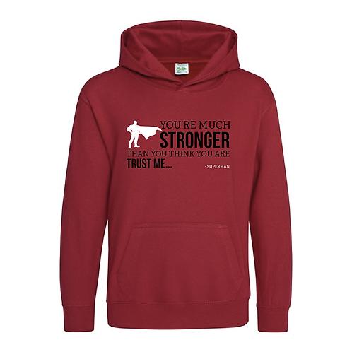 Stronger - Kids Hoody