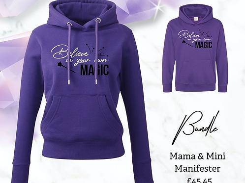 Mama & Mini Manifester Bundle - Believe