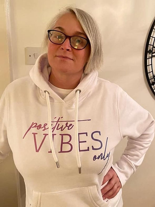 Positive Vibes Only - LOA Womens Hoodie - Multiple Colours Available