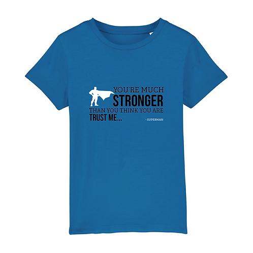 Stronger - Kids T-shirt
