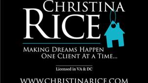 Christina Rice Real Estate Agent