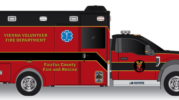Rescue Ambulance for Fire Dept.