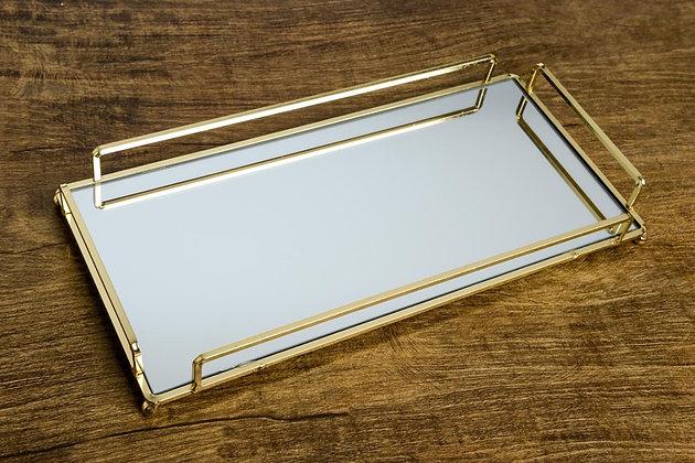 Bandeja Retângulo com espelho