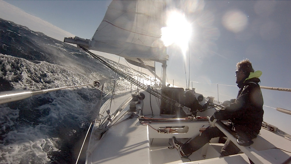 Navigation hivernale
