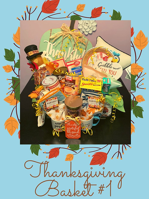 Thanksgiving Raffle Basket #1
