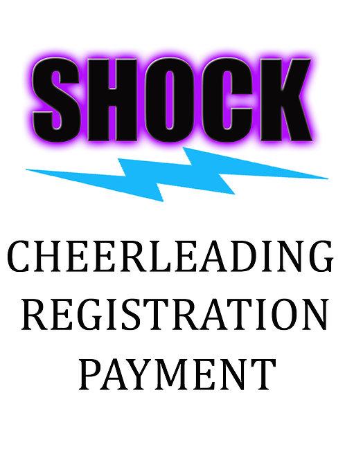 Shock Cheerleading Registration Fee