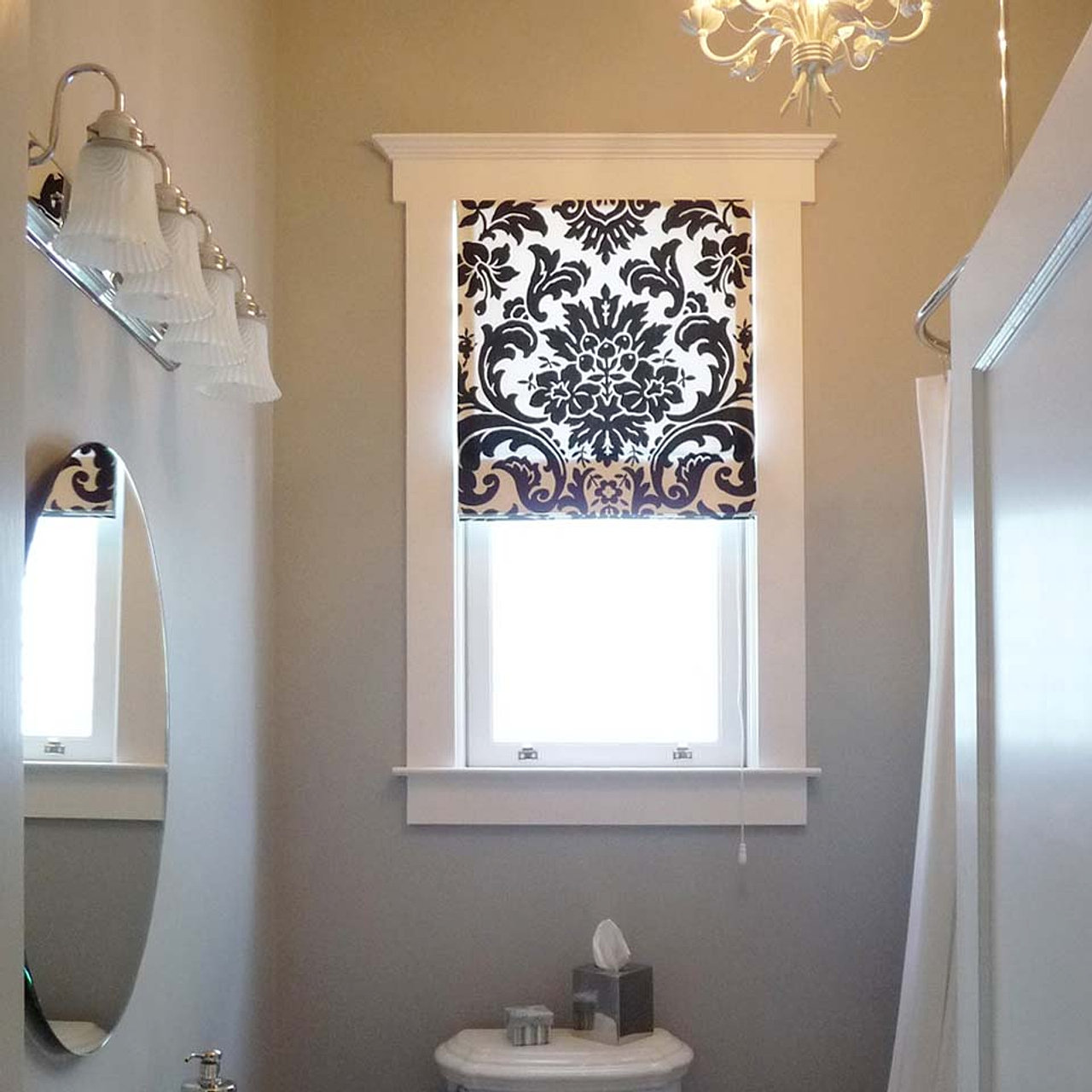 roller shade norman_invisibletilt_2 roman shade - Best Blinds For Bathroom