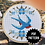 Thumbnail: Traditional Swallow Cross Stitch PDF Pattern