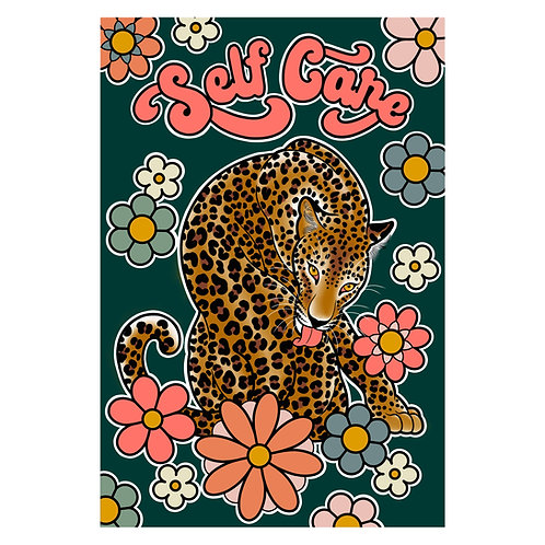 Self Care Leopard Print
