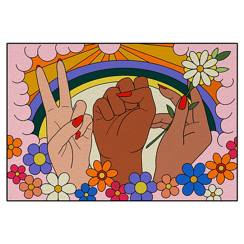 Peace, Love, Hope Fundraiser Print