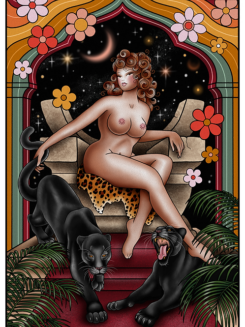 Queen of the Universe Print