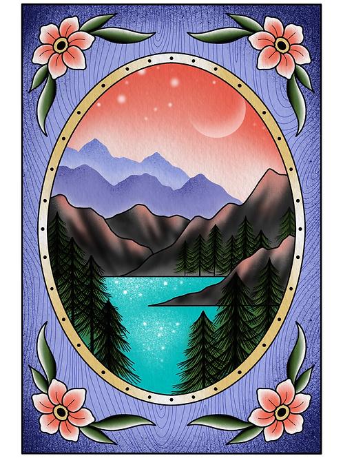 Mountain Hideaway Print