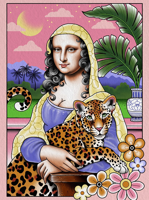 Mona Leopard Print