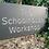 Thumbnail: Welsh slate deep V carved house sign