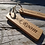 Thumbnail: Solid oak - laser engraved key fobs - 100% sustainable timber