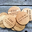 Thumbnail: Solid oak coasters - Horse quotes