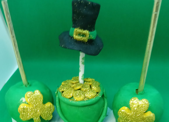 St Patrick's Chocolate Apples