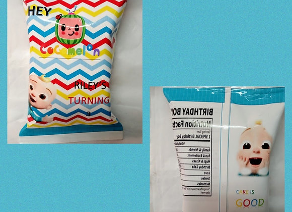 Cocomelon Inspired Chip Bag