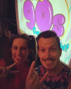 QLD hosts - Dan & Ellen