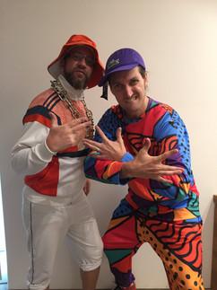 90s hosts - Matt and Josh