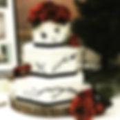 everything bodacious bakery, utah wedding cake