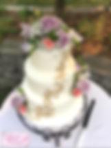 aunties cakery, utah wedding cake