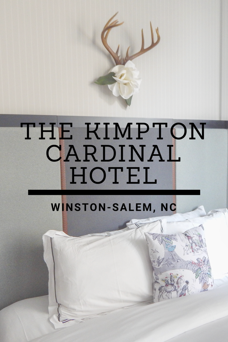 A review of the Kimpton Cardinal Hotel
