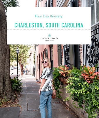 4 Days in Charleston, South Carolina | Itinerary