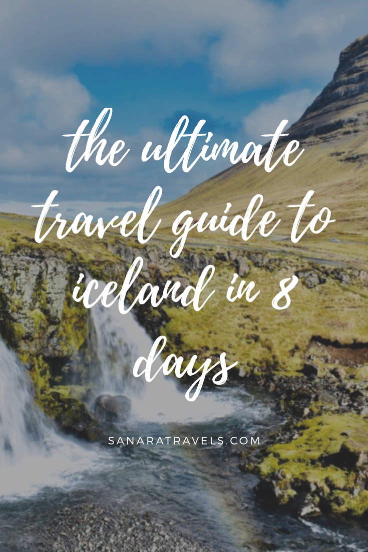 Traveling Iceland's Ring Road in 8 days