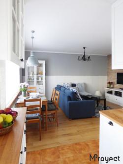 P1120482 projekt kuchni i salonu MProyect