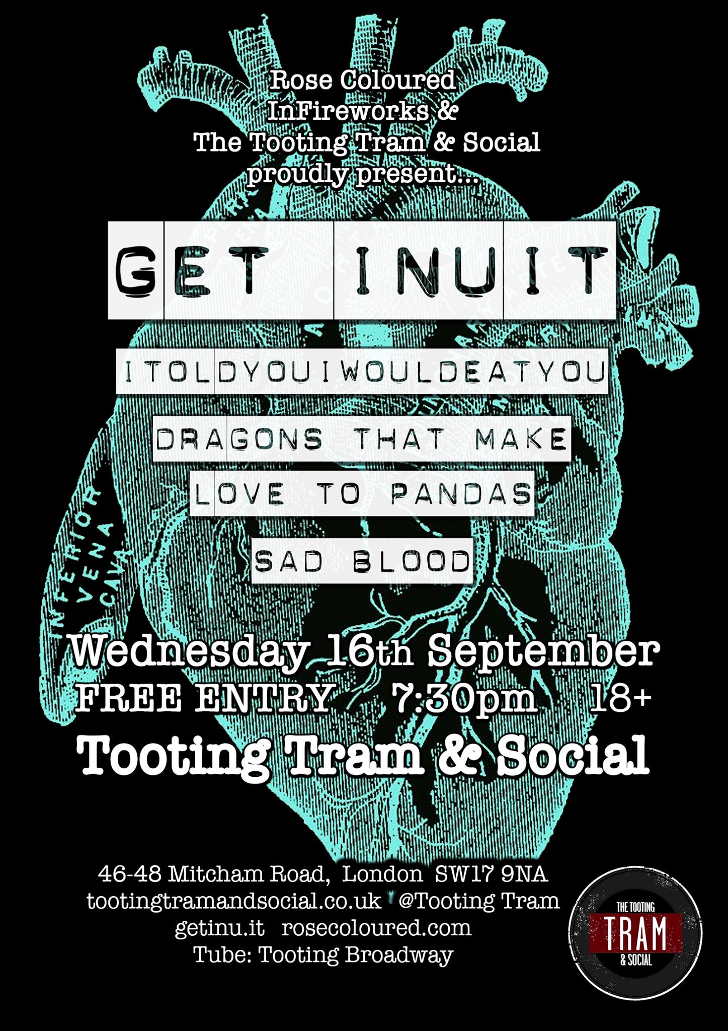Get Inuit - Tooting Tram & Social