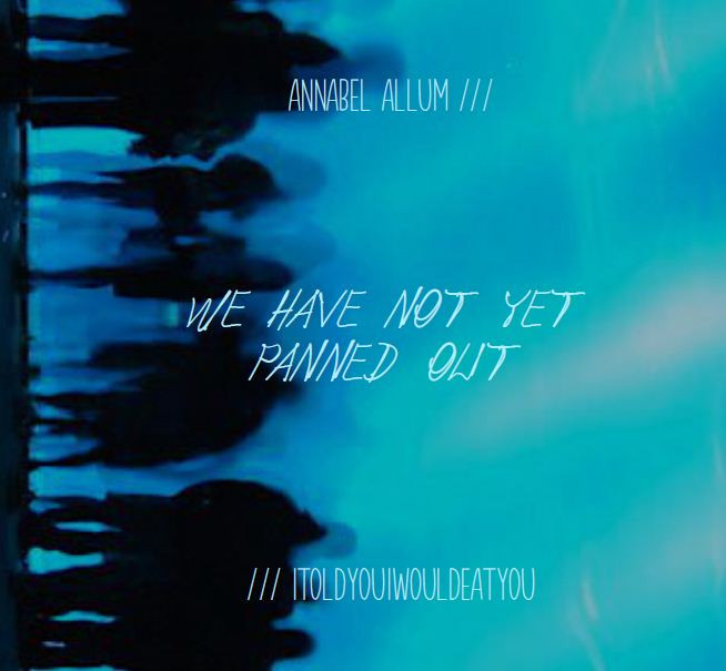 NEW RELEASE: Split EP 'We Have Not Yet Panned Out'