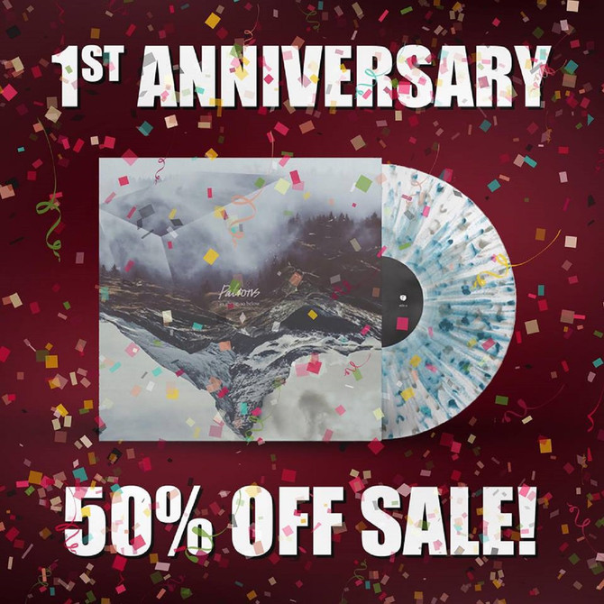 HALF PRICE SALE! - Patrons debut record turns 1 year old.