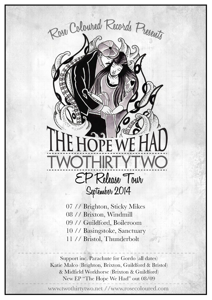'The Hope We Had' EP Tour