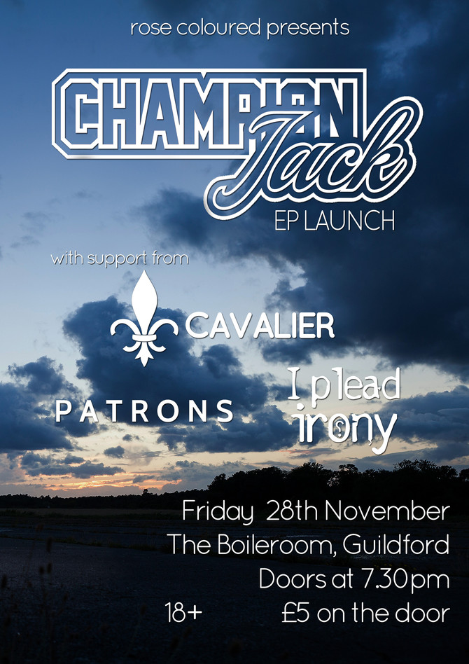 NEW SHOW #2 - Champion Jack EP Launch at The Boileroom