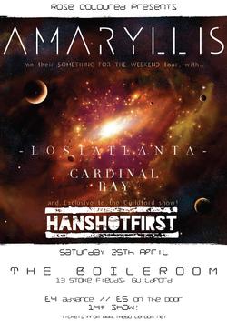 Amaryllis tour + Hanshotfirst