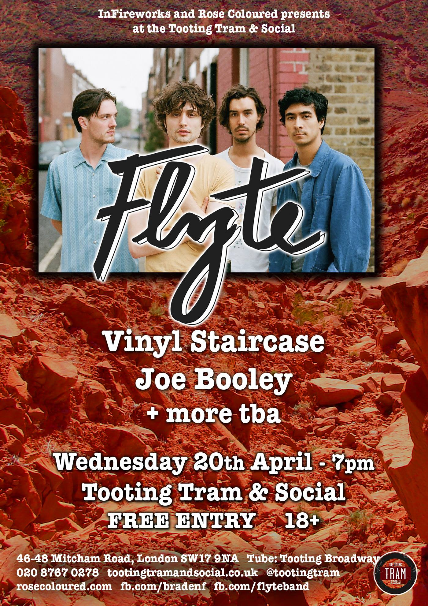 Flyte - Tooting Tram & Social