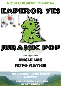 Emperor Yes + Jurassic Pop