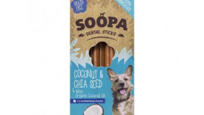 Soopa   dental sticks coconut &chia seed