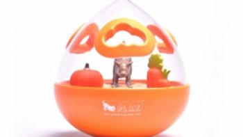 P.L.A.Y. | Wobble Ball treat toy orange