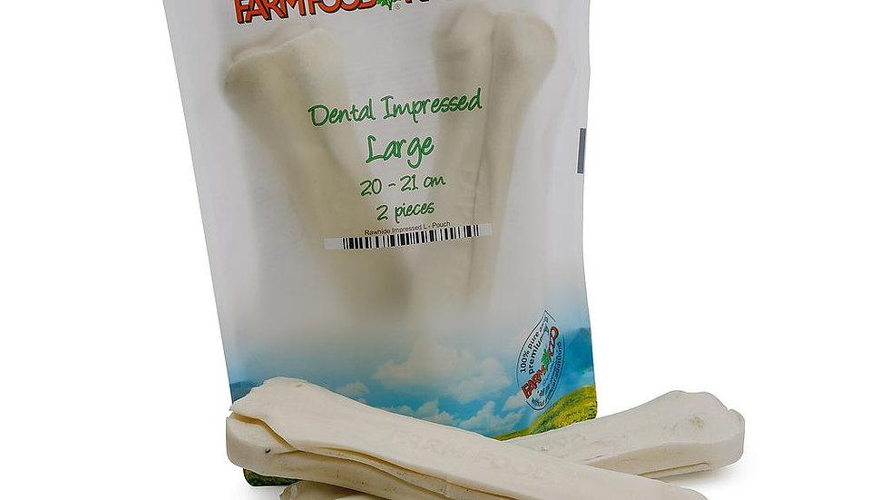 Farmfood  Dental impressed L (2x)