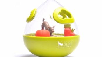 P.L.A.Y. | Wobble Ball treat toy green