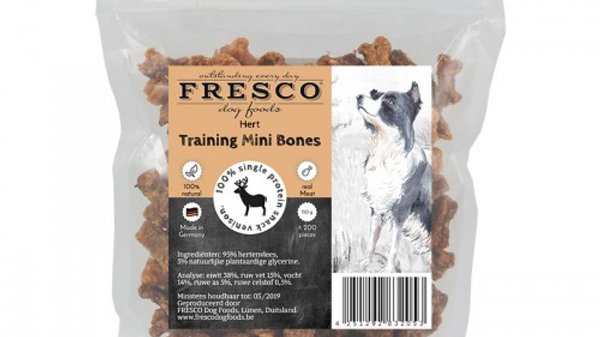 Fresco  training mini bones hert 150g