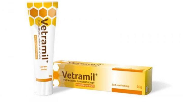Vetramil |honingzalf 10g
